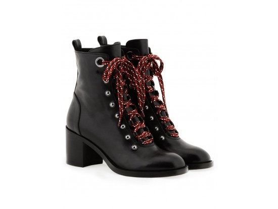 NURSACE Ботинки черная кожа,деми В58321