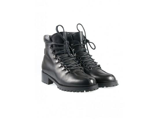 NURSACE Ботинки на меху,кожа ANALIN  B60203