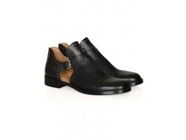 NURSACE Туфли черная кожа A47814